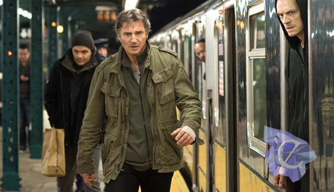 Liam Neeson at the commuter. Credit : Lionsgate