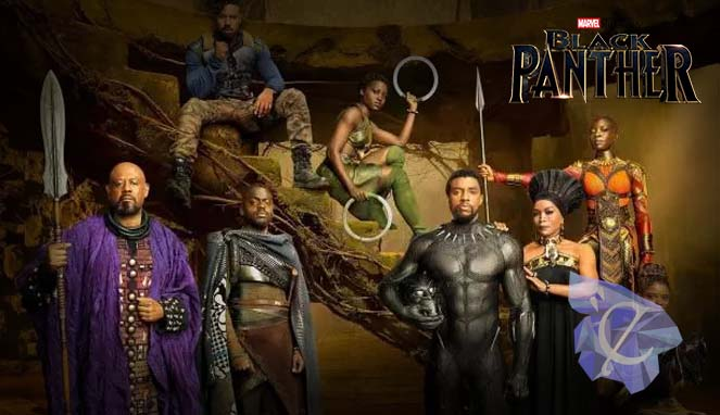 Black Panther (2018) cast Photograph by Kwaku Alston for Marvel Studios.