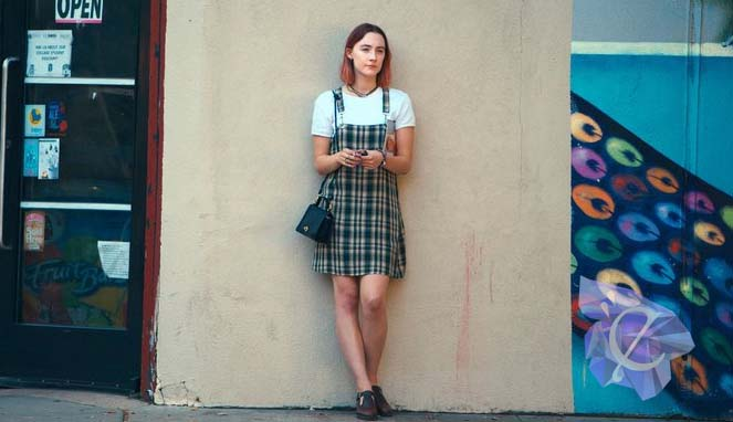 "Christine ""Lady Bird"" McPherson (Saoirse Ronan) Source : Scott Rudin Productions"