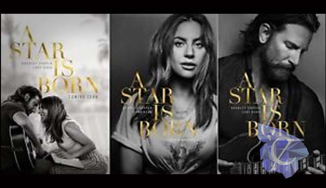 A Star Is Born Movie Poster Lady Gaga Bradley Cooper
