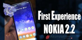 First Experience NOKIA 2.2
