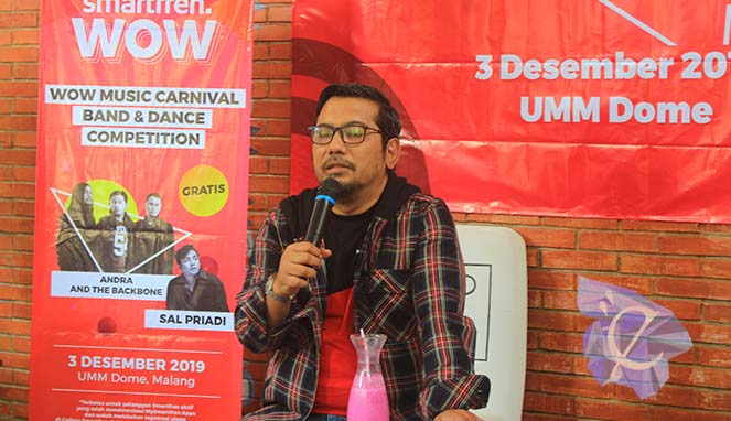 Smartfren WOW Carnival Muhammad Cahyadi, Region Head South East Java Smartfren